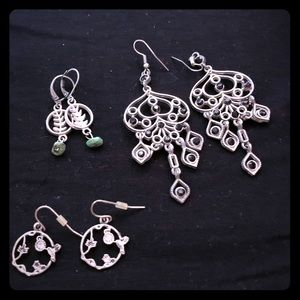 Silver Dangle Earring Collection